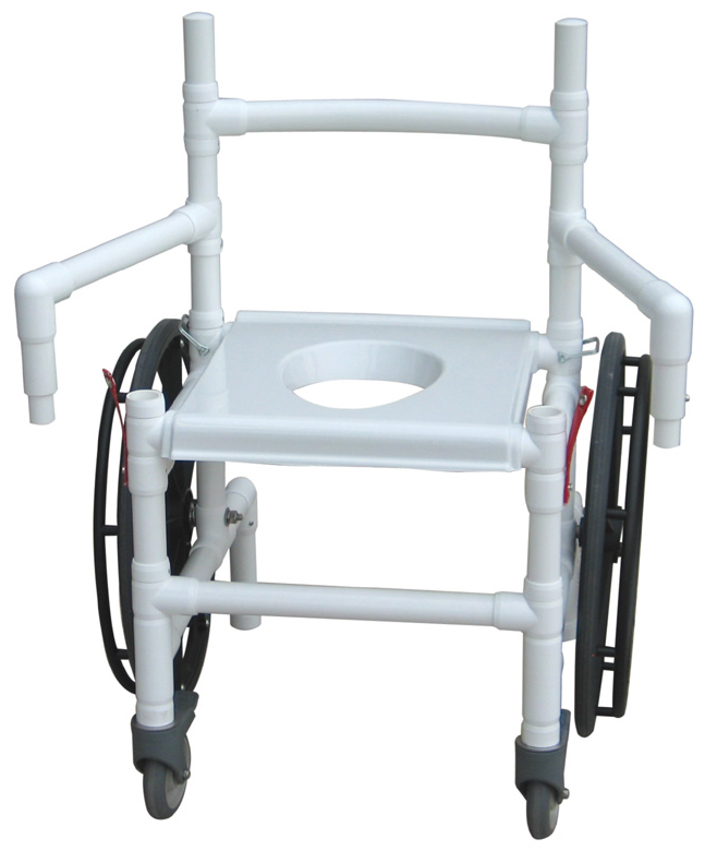 MJM Folding De-Con Multi Purpose Transfer Chair for Emergency Preparedness