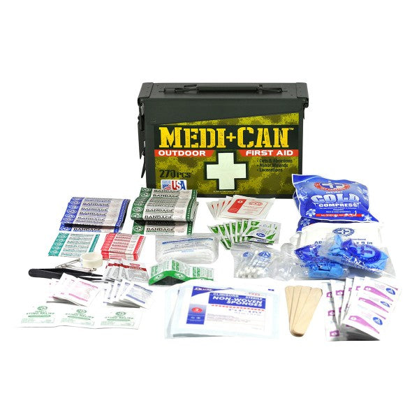 Wise Outdoor First Aid Kit - 270 Pieces