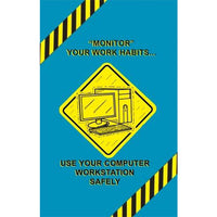 MARCOM Computer Workstation Safety Poster
