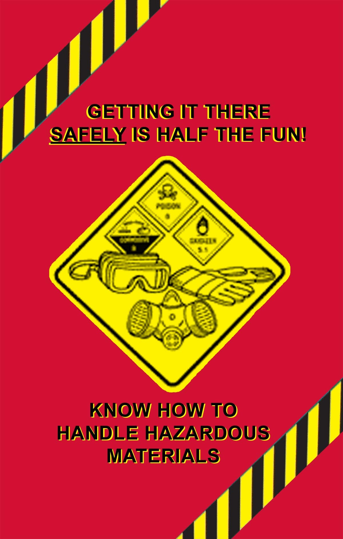 MARCOM DOT HAZMAT Safety Training Poster