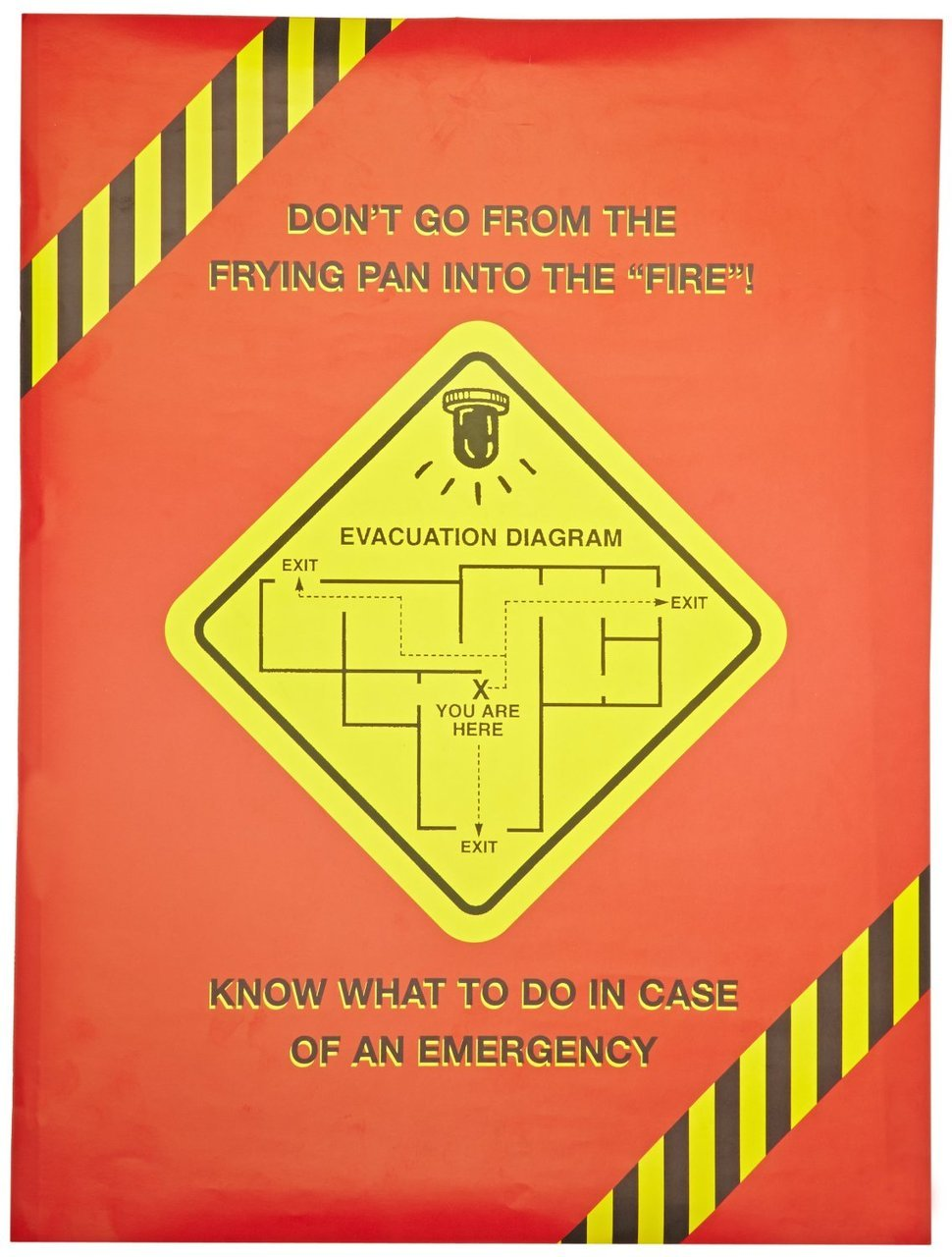 MARCOM Emergency Planning Poster