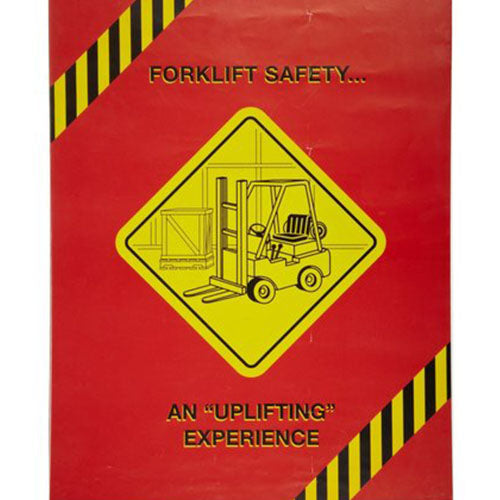 MARCOM Forklift/Powered Industrial Truck Safety Poster