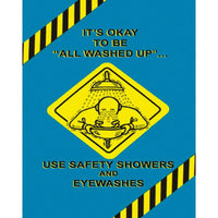 MARCOM Safety Showers and Eye Washes Poster