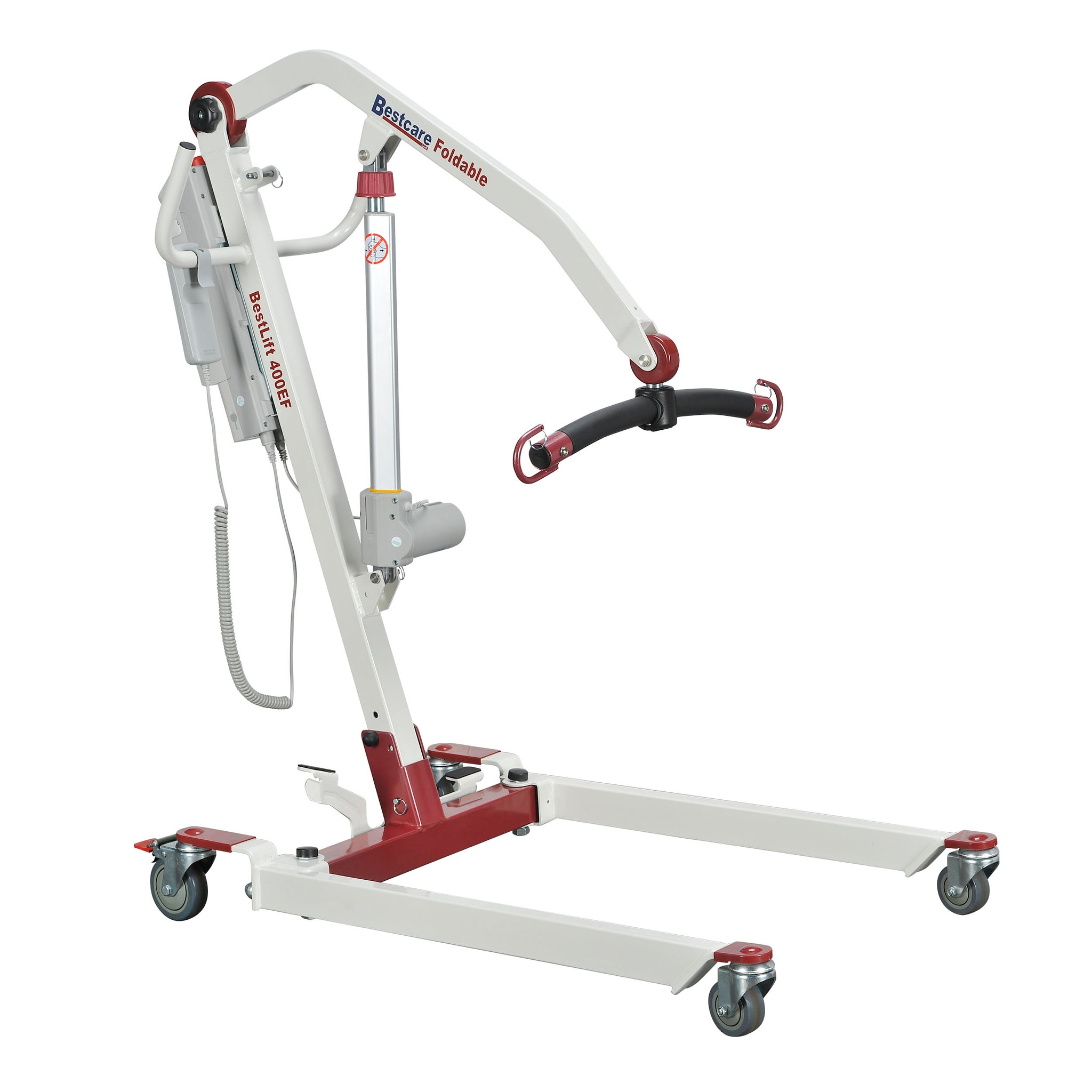 Bestcare PL400EF – Foldable/Portable/Transportable Mobile Floor Lift