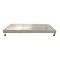 PVI Ramps Elev8 Adjustable Grooved Aluminum Threshold