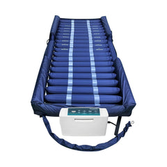 "Proactive  Protekt® Aire 4600DXAB Low Air Loss/Alternating Pressure Mattress System with Digital Pump, ""Raised Side Air Bolsters"" and Cell-On-Cell Support Base"