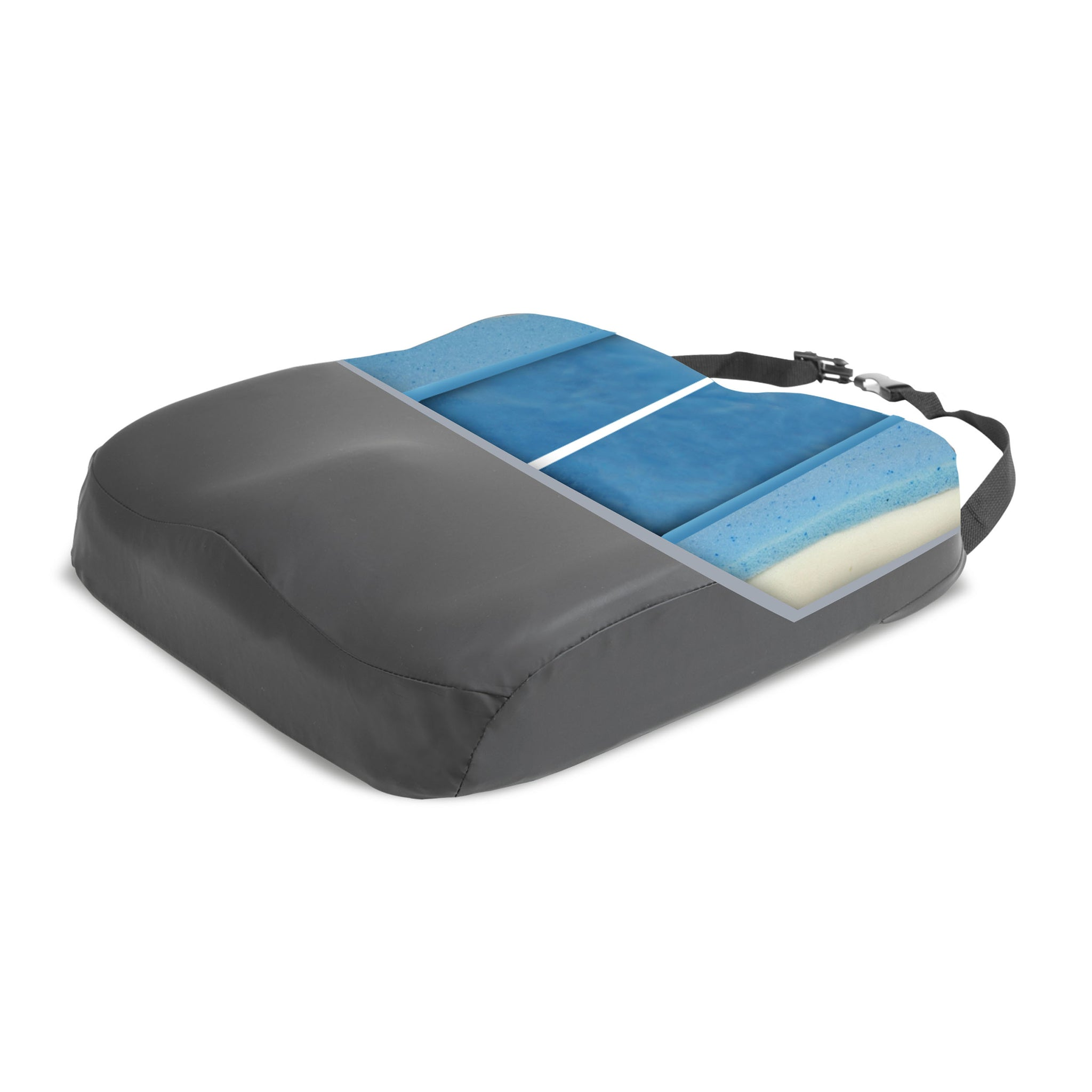 Proactive Protekt® Ultra Bariatric Cushion with Pummel CPU Cover and Non-Skid Bottom