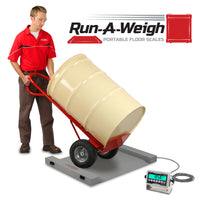Cardinal Run-A-Weigh Portable Floor Scale