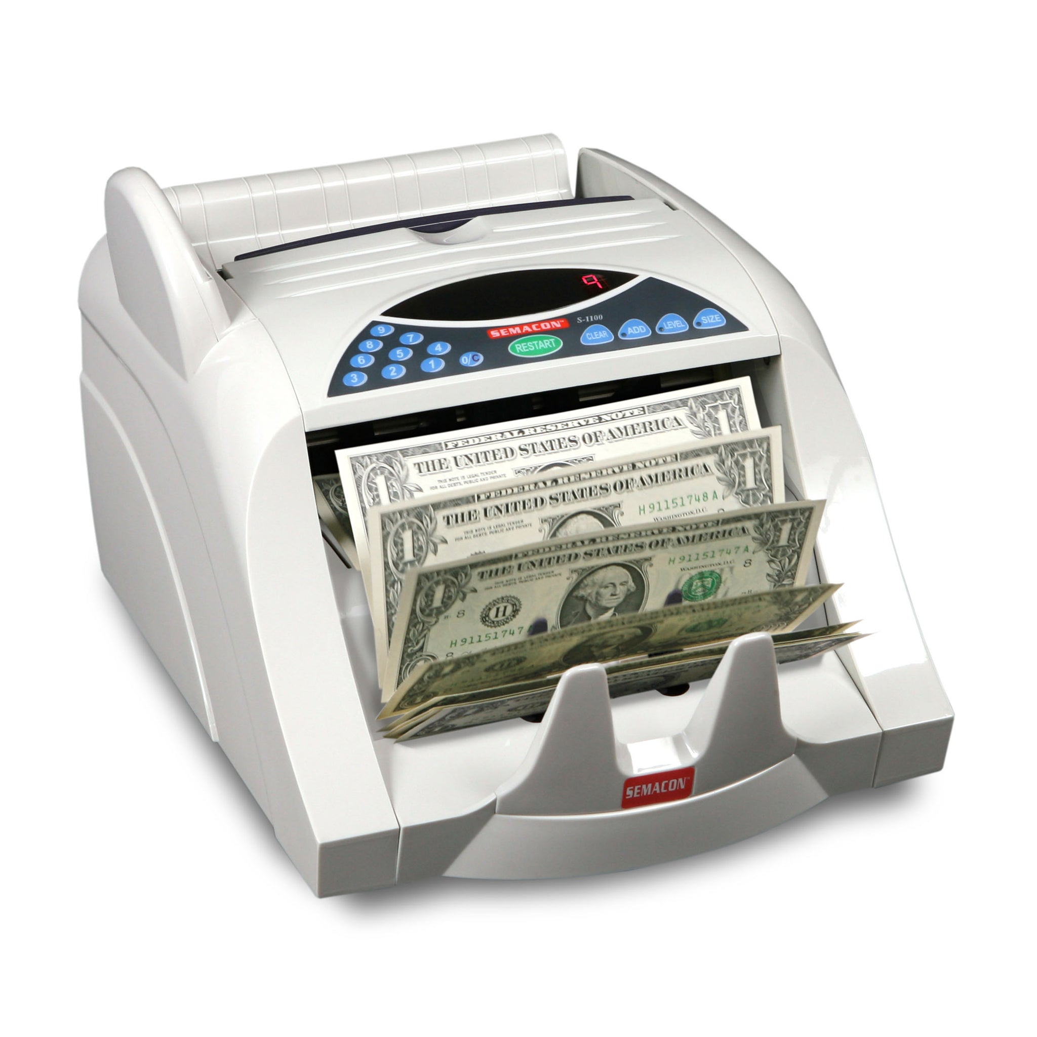 Semacon  S-1100 Series Heavy Duty Currency Counter