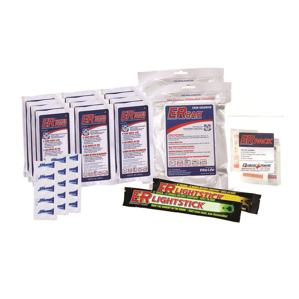 ER™ Emergency Ready 2-Person Survival Kit Replacement Pack