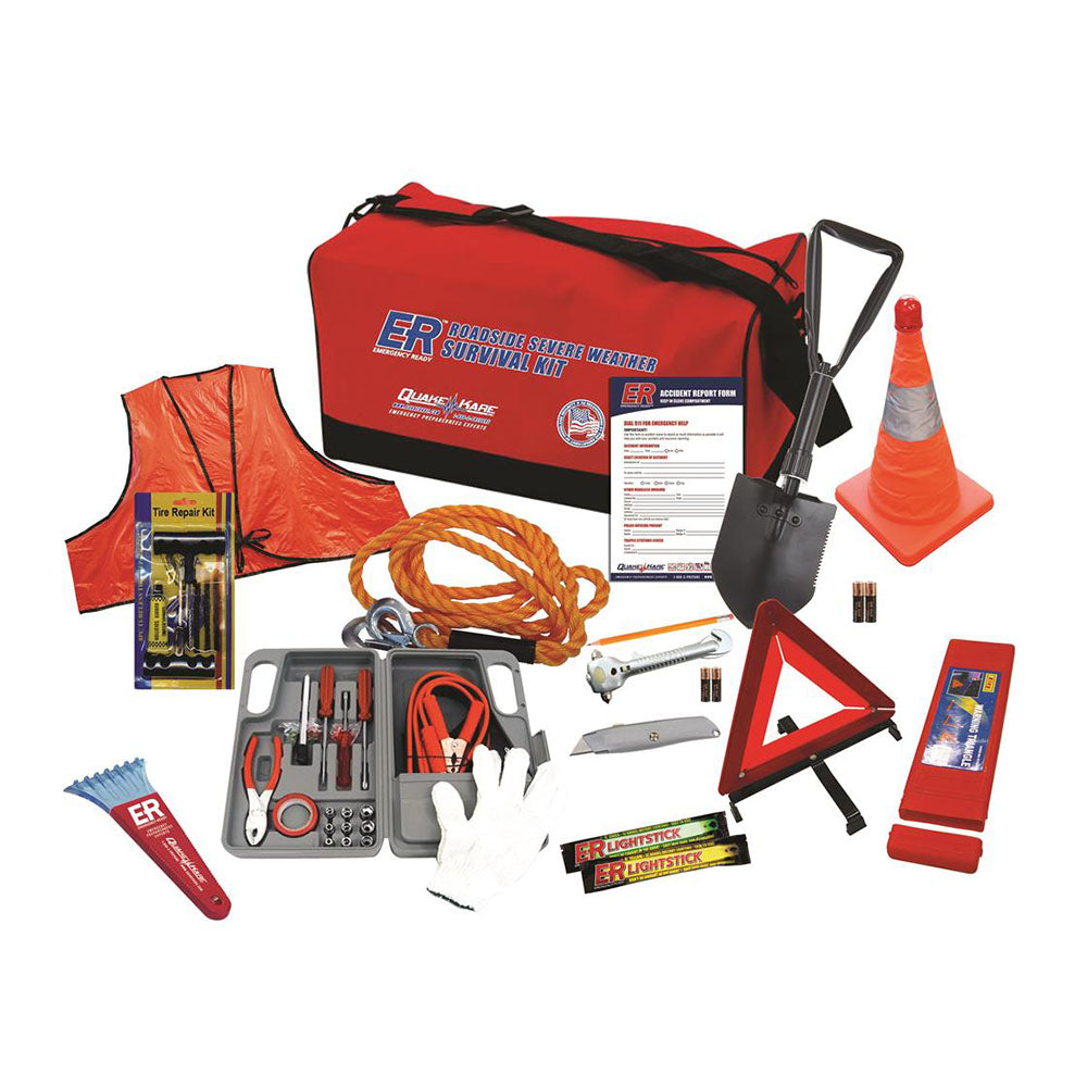 ER™ Emergency Ready Ultimate Deluxe Roadside and Severe Weather Kit