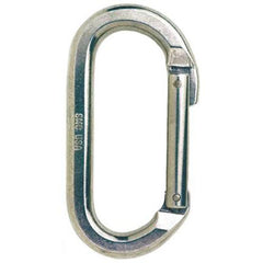 SMC Oval Non-locking Aluminum Carabiner