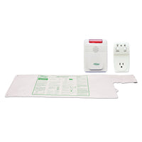 Smart Caregiver Smart Light Outlet with 433-EC Monitor and Cord Less® Bed Sensor Pad