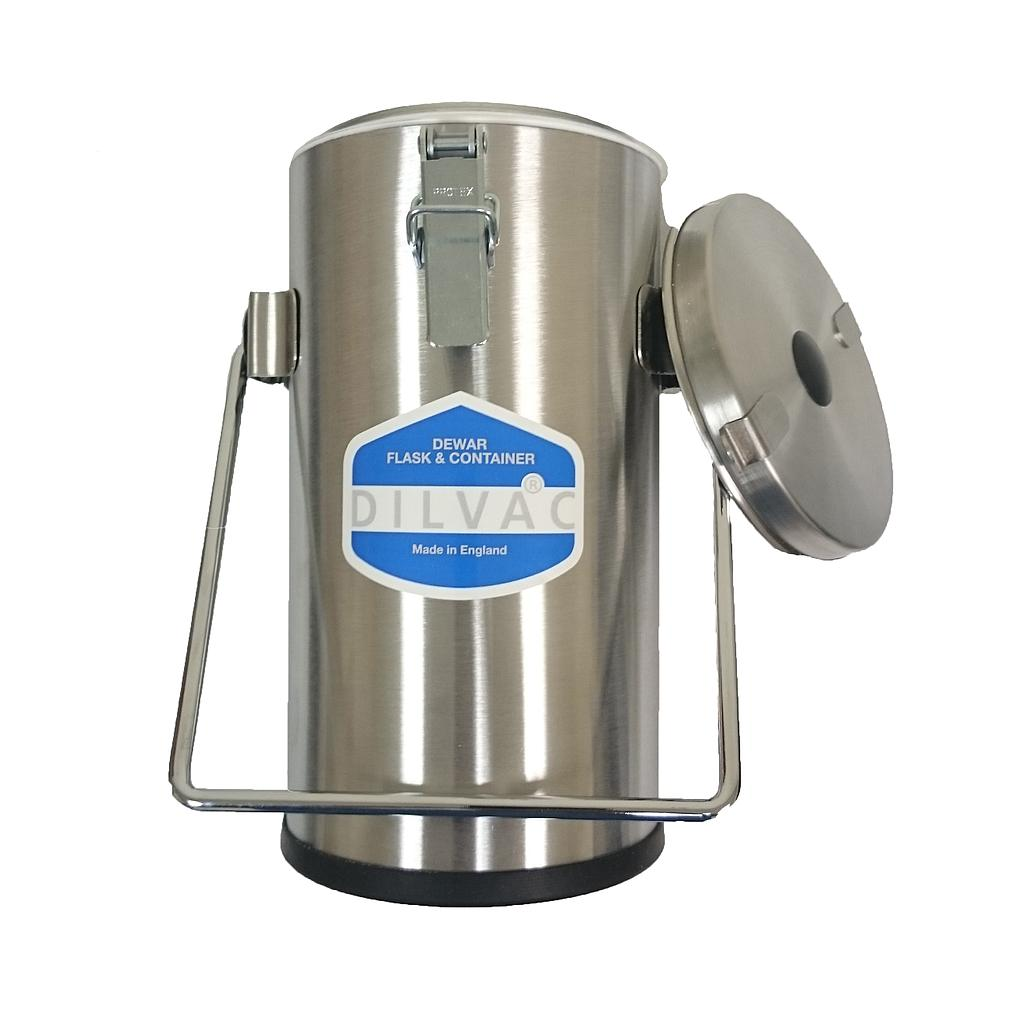Scilogex DILVAC Stainless Steel Cased Dewar Flasks
