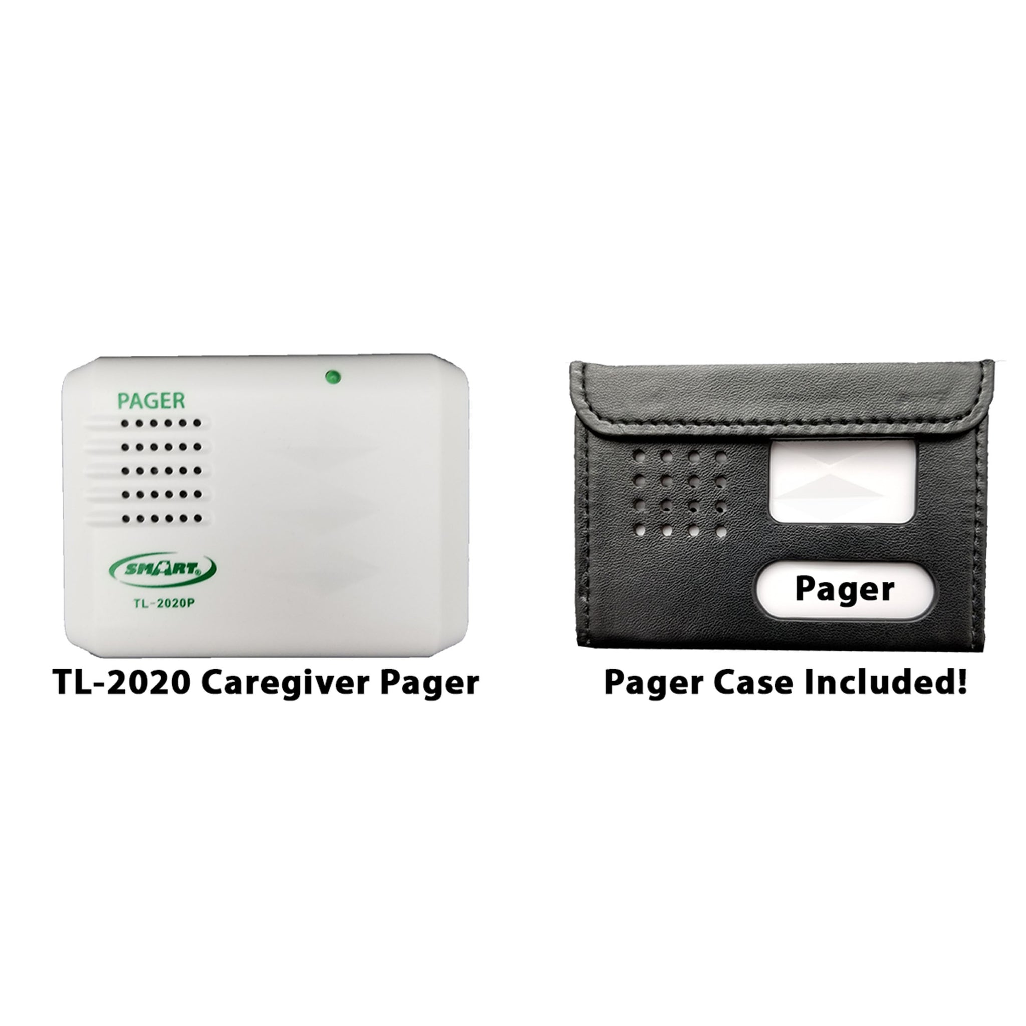 Smart Caregiver Wireless Economy Pager for the Wireless Economy Quiet Fall Prevention Alert