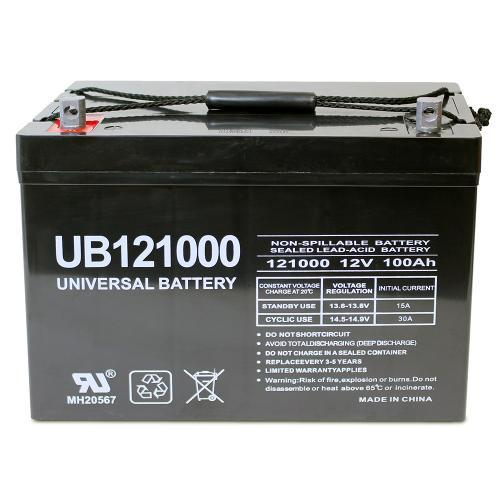 Universal Battery 12V 100 Ah SLA/AGM Battery