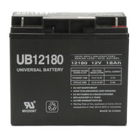 Universal Battery 12V 18 Ah SLA/AGM Battery