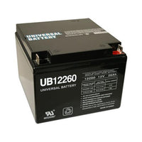 Universal Battery 12V 26 Ah SLA/AGM Battery