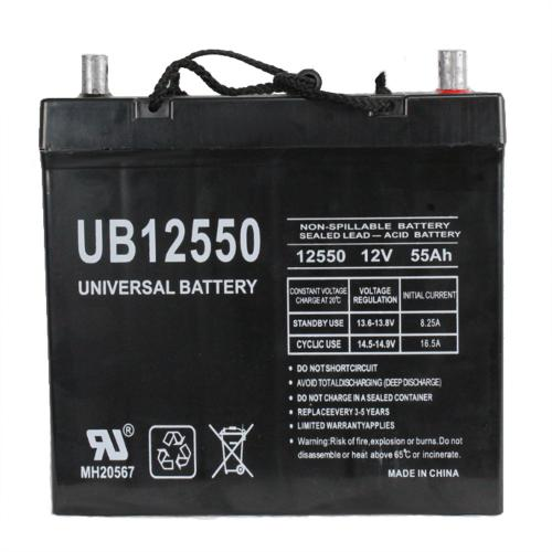 Universal Battery 12V 55 Ah SLA/AGM Battery