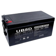 UPG 12V 250 Ah AGM Battery