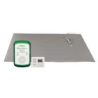 Smart Caregiver Wireless Fall Monitor with Weight-Sensing Floor Mat and LCD Pager System