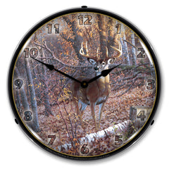 "Great Eight 14"" LED Wall Clock"