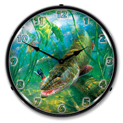 "In The Thick of It 14"" LED Wall Clock"