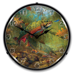 "American Beauties 14"" LED Wall Clock"