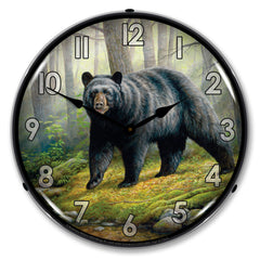 "Woodland Morning 14"" LED Wall Clock"