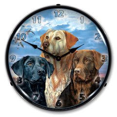 "Labrador Retriever 14"" LED Wall Clock"