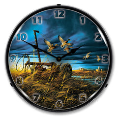 "Landmark Mallards 14"" LED Wall Clock"