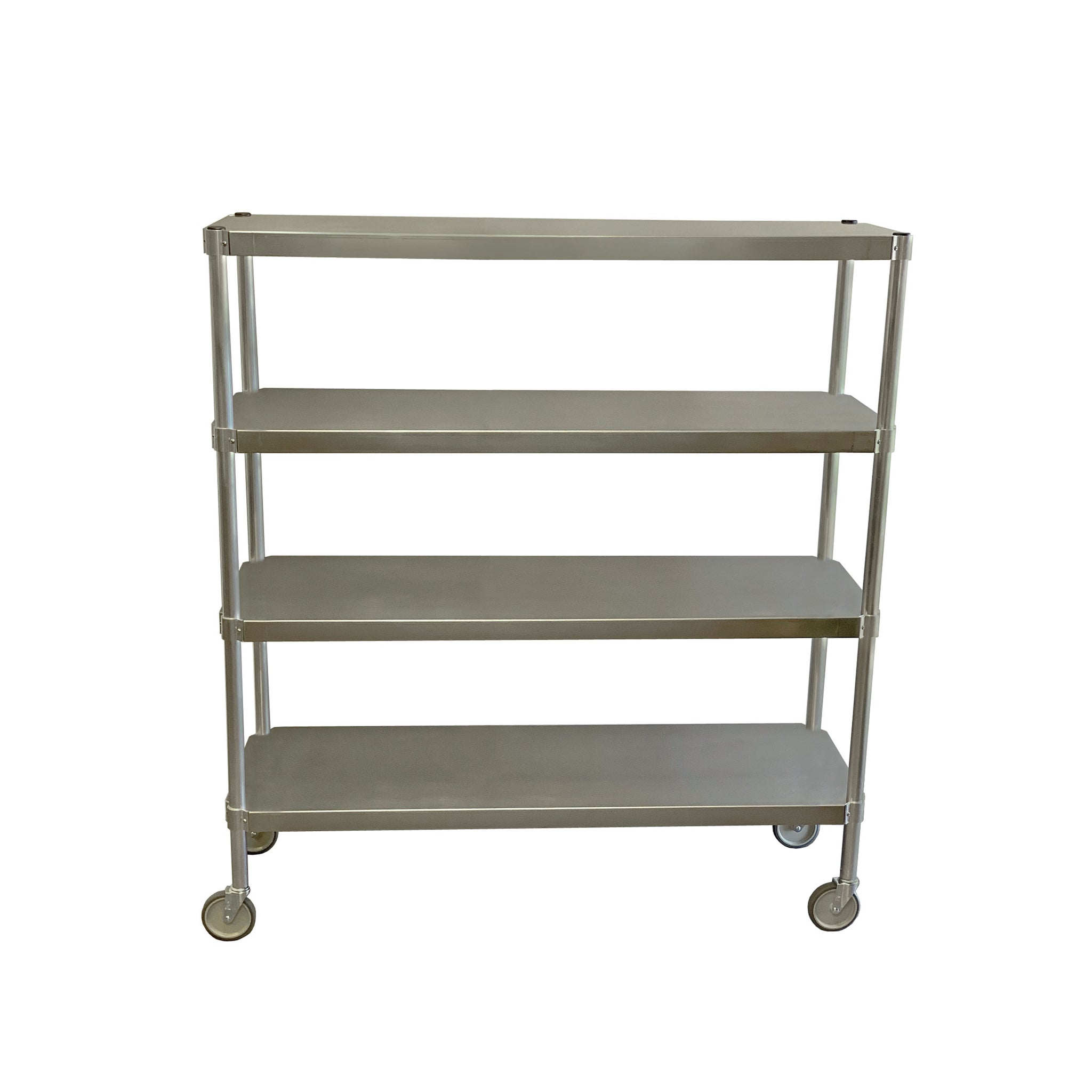PVI Food Service Mobile Stainless Steel Shelving Unit