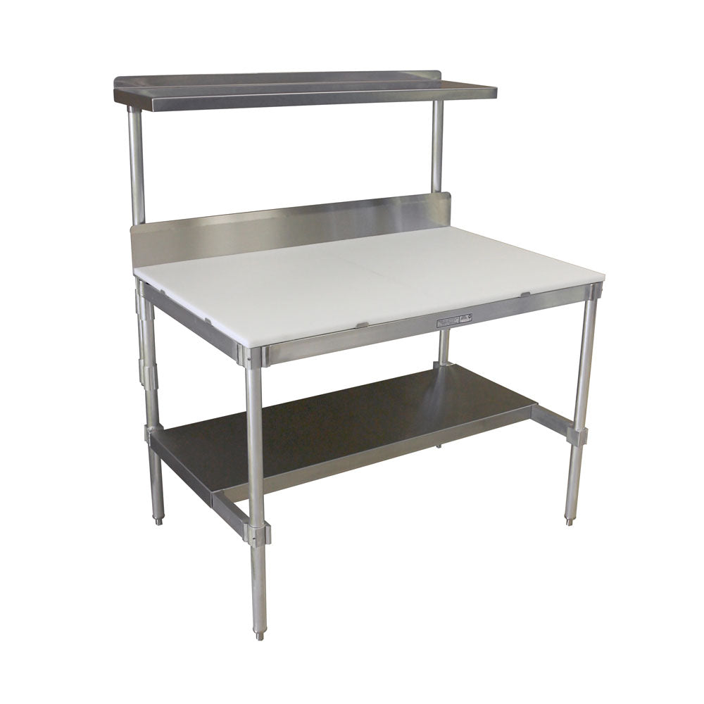 PVI Food Service Poly Top I-Frame Table
