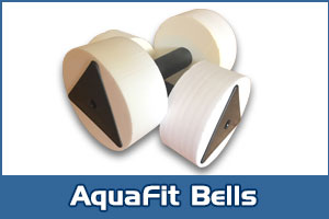 Aquajogger® Aquafit Medium Resistance Dumbells