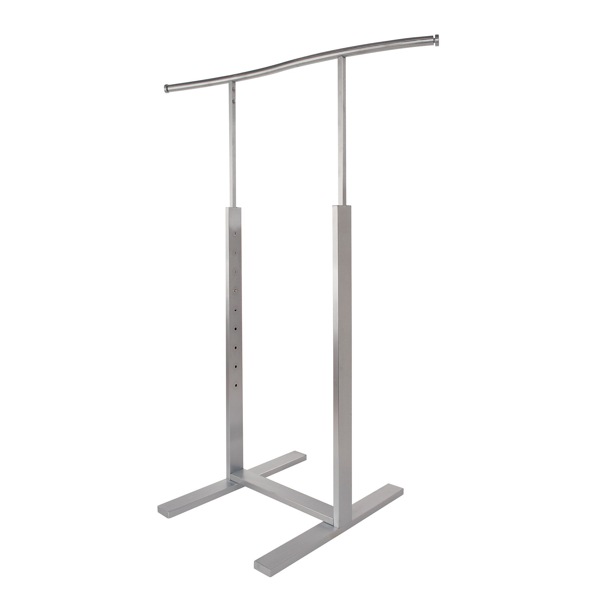Econoco Single Bar Merchandiser with S-shaped Hang Rail
