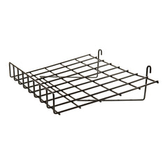 "Econoco 1/4"" Wire Slant Shelf With Front Lip For Grid Panel"