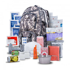 Five Day Survival Kit Backpack For One Person (Camo)