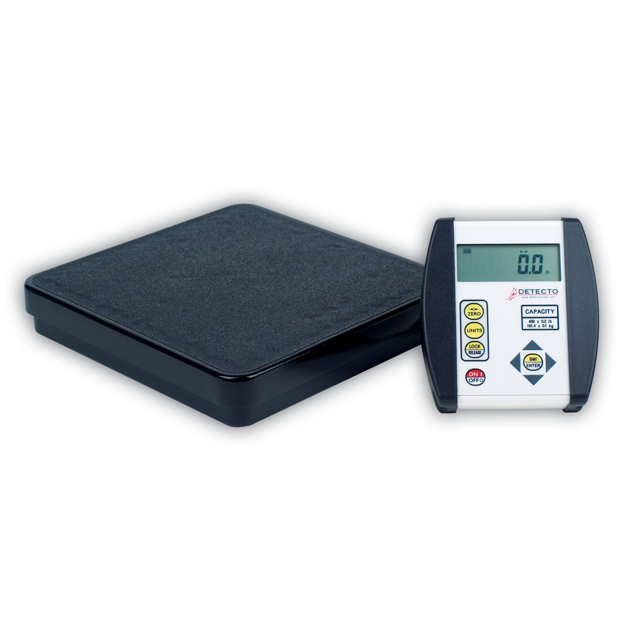 Detecto DR Series Portable Home Healthcare Scale with BMI