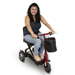 EWheels EW-01 Portable Folding 3-Wheel Mobility Scooter