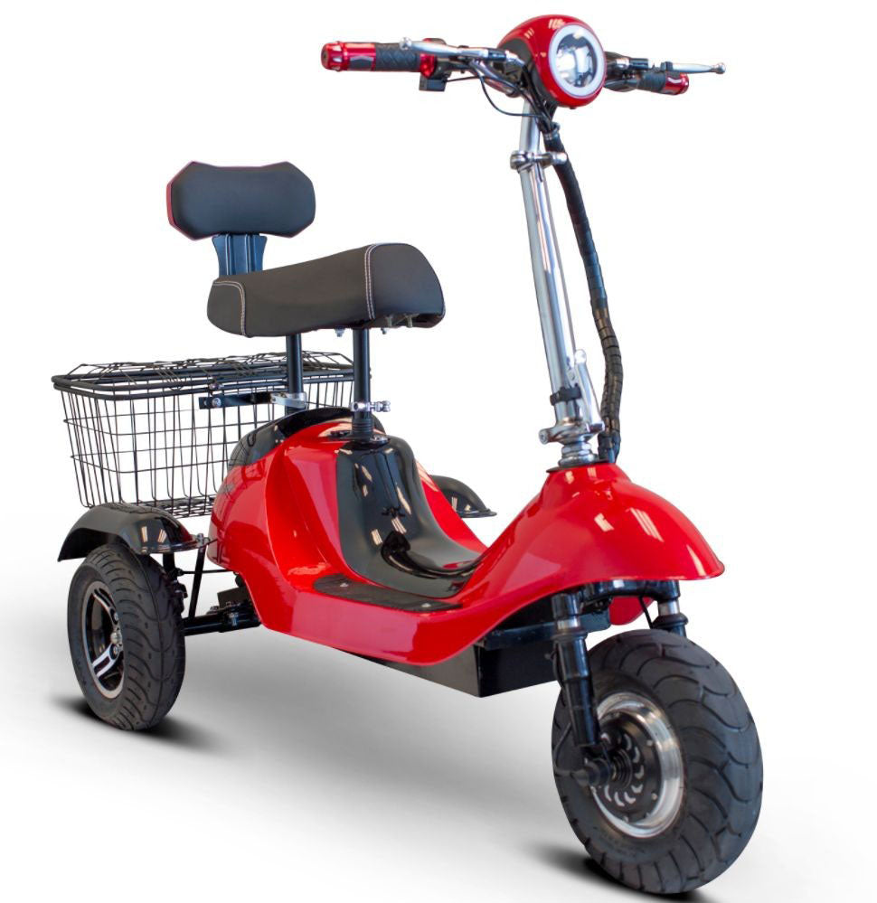 EWheels EW-19 Sporty 3-Wheel Mobility Scooter