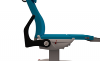 HNT Medical Podiatry Exam Chair