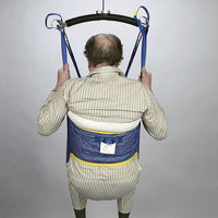 Handicare Quilted Hygiene 4-Point Patient Lift Slings with Commode Opening