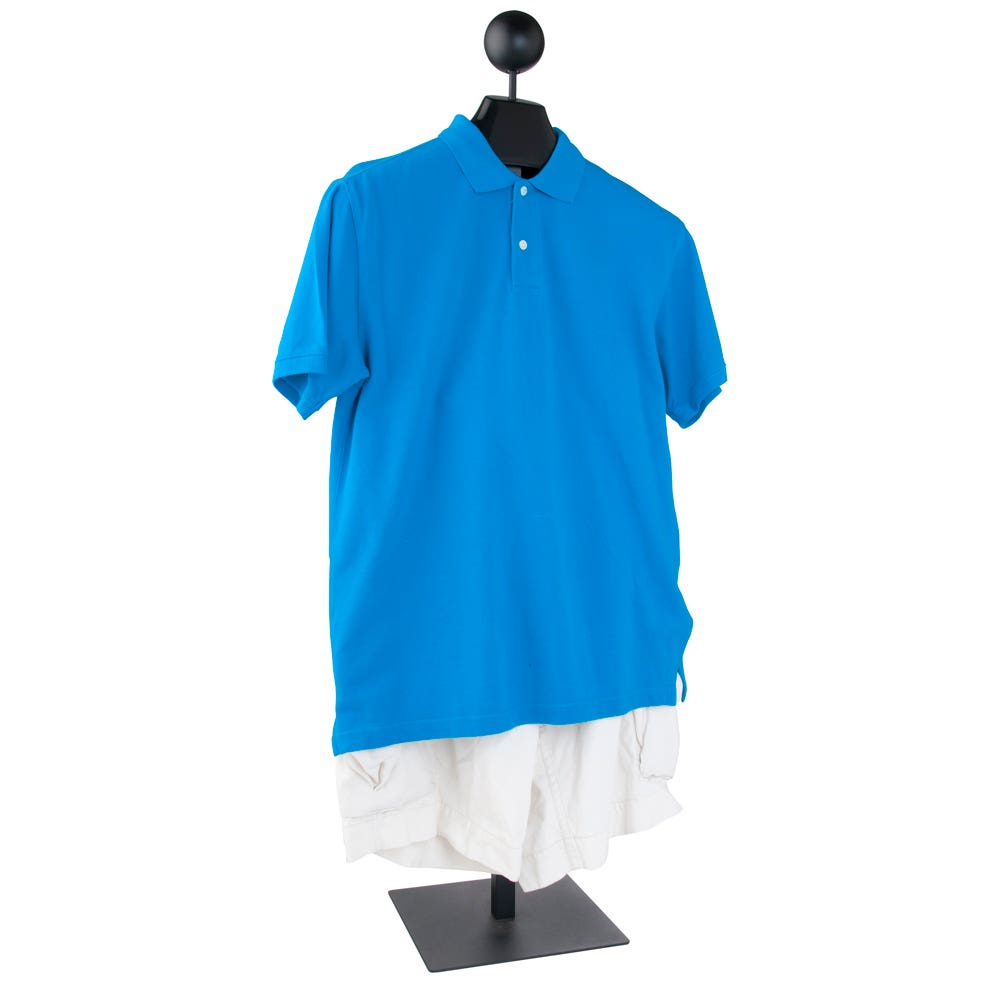 Econoco Men's Costumer With Hanger And Ball Top