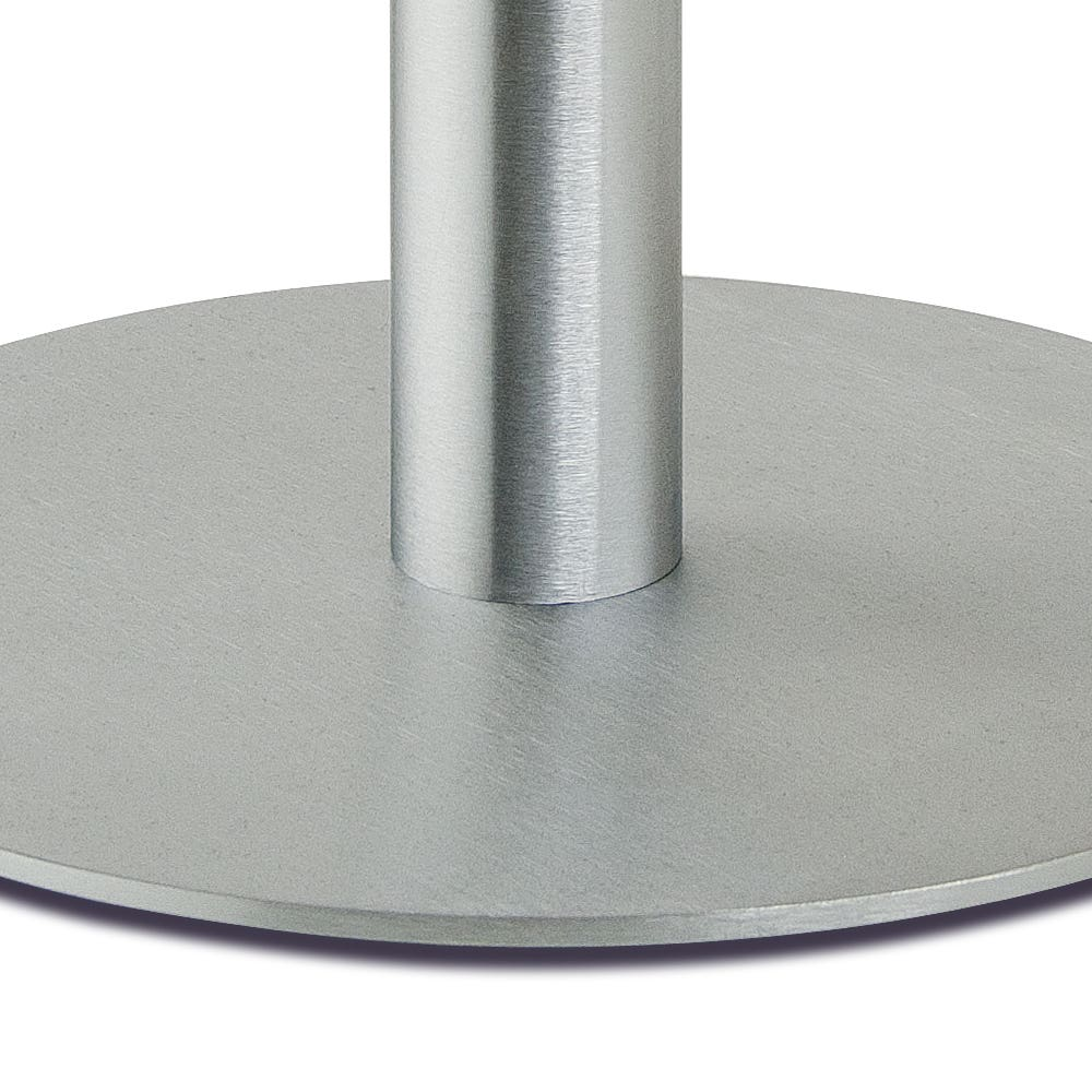 "Econoco Melrose Round Base w/ 5/8"" and 7/8""dia Upright"