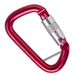 "Omega Pacific 1/2"" Modified D NFPA Captive Eye Carabiner"