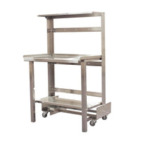 PVI Food Service Mobile Retractable Prep Station
