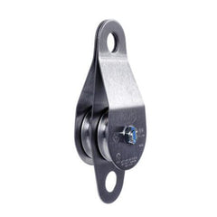 "PMI® SMC/RA 2"" Double Pulley, Stainless Steel Side Plates, Oilite, NFPA-G"