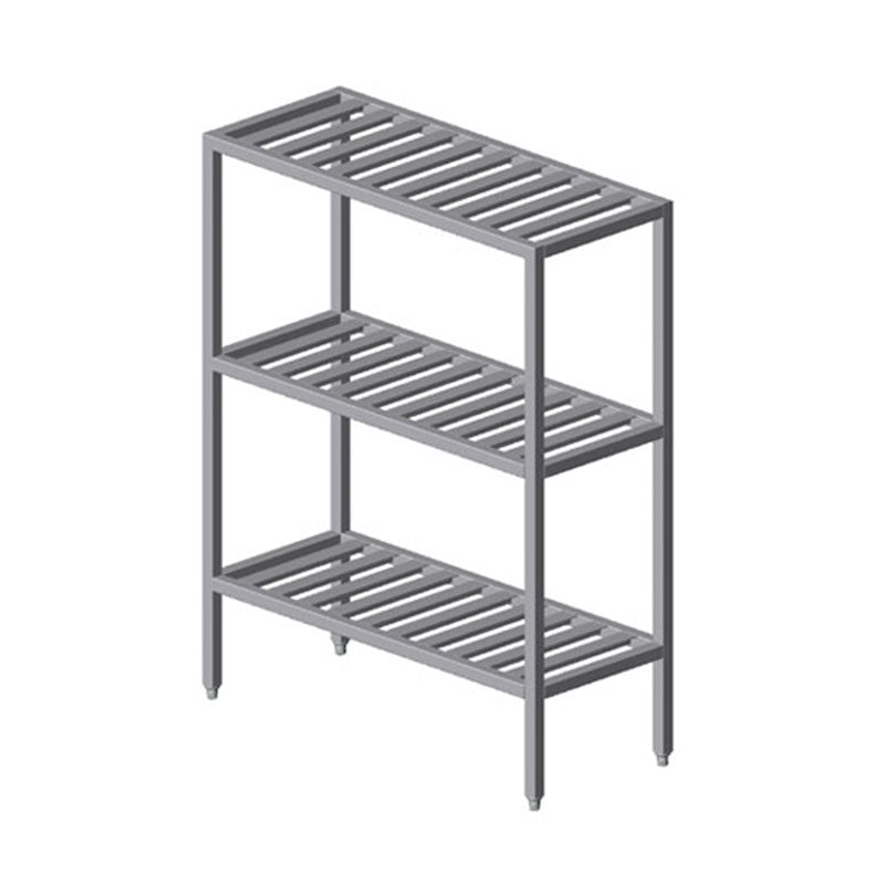 PVI Food Service Institutional All-Welded T-Bar Shelving