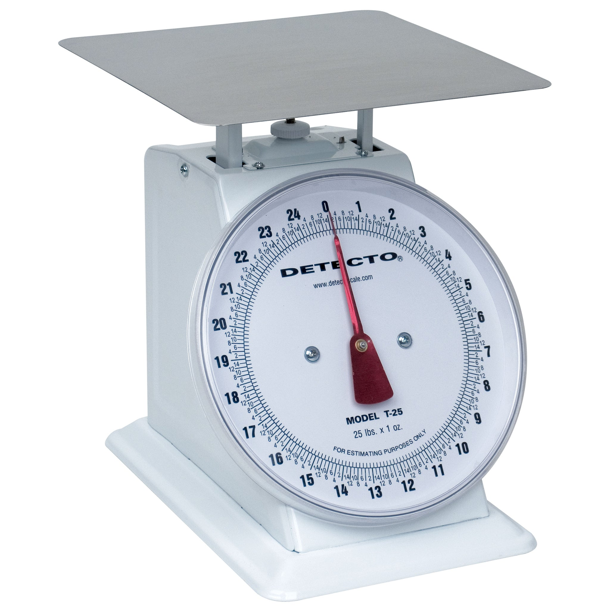 Detecto T-Series 8-In and 10.5-In Top Loading Dial Scale