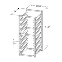 PVI Food Service Insert Pan Rack